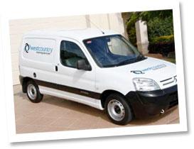 Westcountry Cleaning van